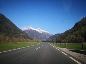 Slika Vrh Grosglokner Alpi Austrija.