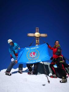 Slika Vrh Grosglokner Alpi Austrija